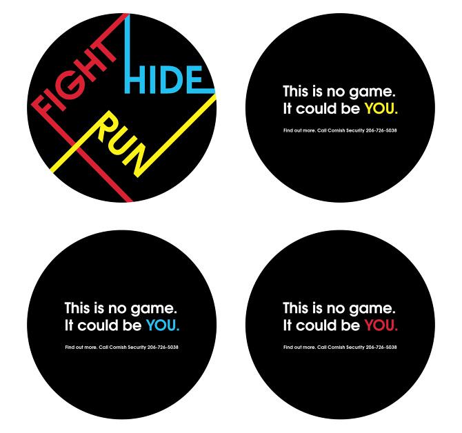 Run Hide Fight Campaign   Amanda Joy Staunton Designs