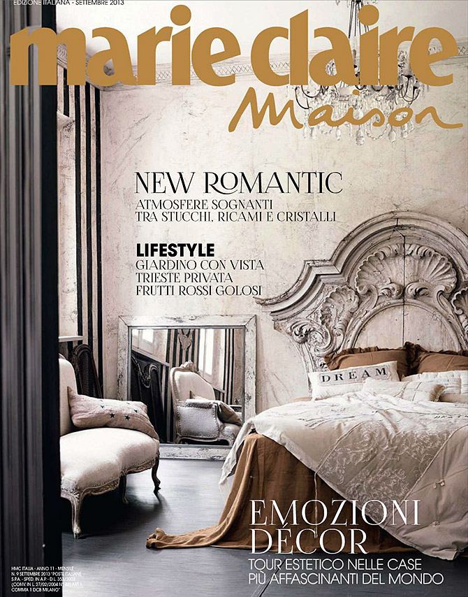 Featured in andr ason leibel design for La maison de marie claire