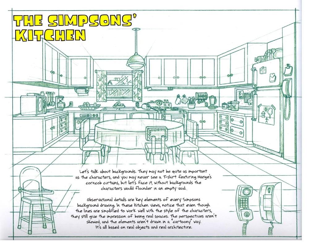 Kitchen simpsons 3D (WIP) - portfolio